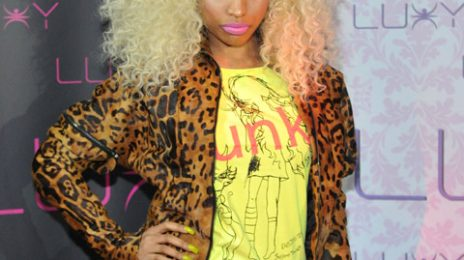 Hot Shots: Nicki Minaj Cranks Up The 'Super Bass' At Luxy