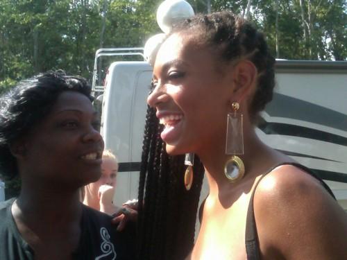 solange party 65 Hot Shots: Beyonce Shoots Party Video