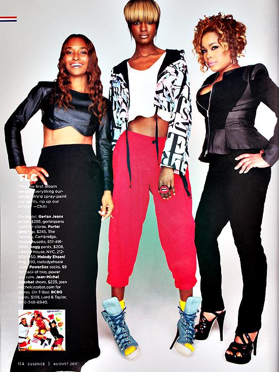 tbozchilli Hot Shot: TLC in Essence Magazine