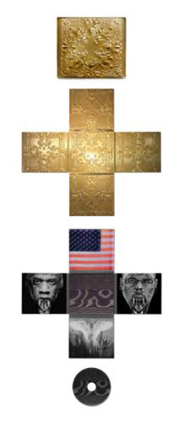 throne crucifix Hot Shots: Jay Z & Kanye Get Beastly In New Watch The Throne Promos