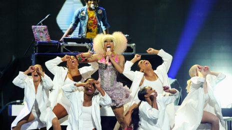 Nicki Minaj Moves iHeartRadio Music Festival Crowd