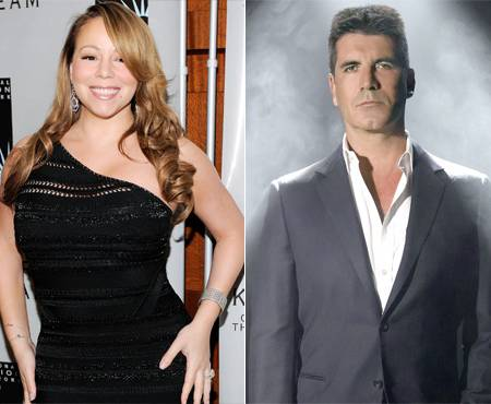 450x370 alg mariah carey simon cowell Nick Cannon Slams Reports Of Mariah Carey Joining X Factor