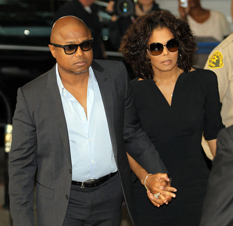 Janet attends Michael Jackson trial