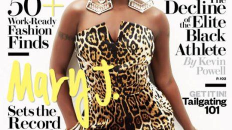 Behind the Scenes:  Mary J. Blige 'Ebony' Magazine Cover