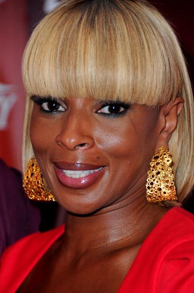 Mary J. Blige Hot Shots: Mary J. Blige Celebrates The Power Of Women