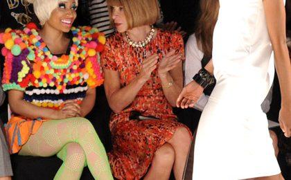 Hot Shots: Nicki Minaj Gets Fashion Forward With Anna Wintour