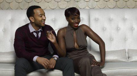 Behind the Scenes:  John Legend & Estelle 'Uptown' Photoshoot