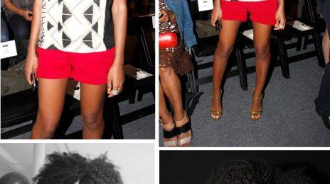 Solange Shines At NYFW