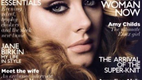 Hot Shots: Adele Glows On Vogue