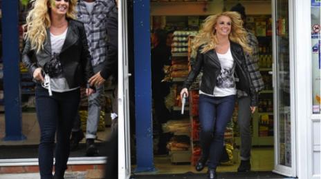 Hot Shots: Britney Gets 'Criminal' In London