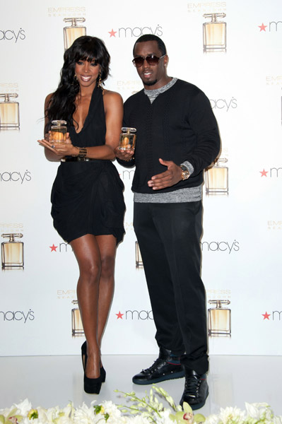 iddy kelly Hot Shots: Diddy Debuts His Empress   Kelly Rowland
