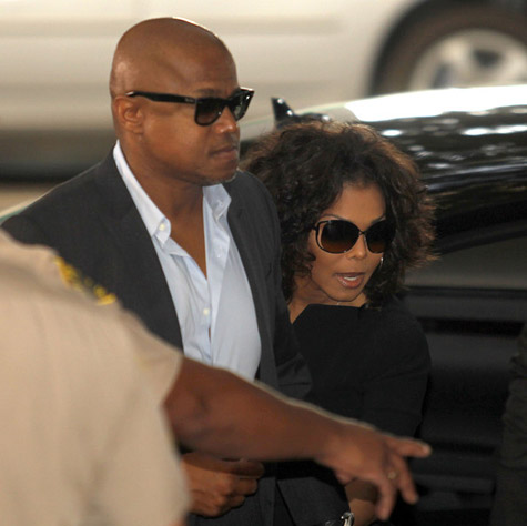 janet trial Janet Jackson Arrives At Conrad Murray Trial