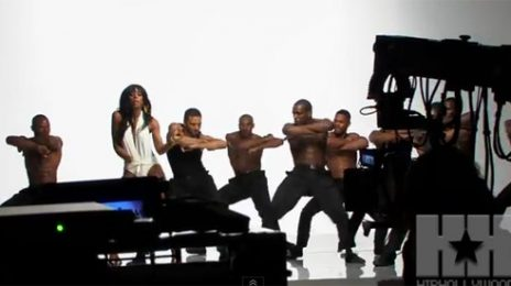 Watch: Kelly Rowland Shoots 'Lay It On Me' Video