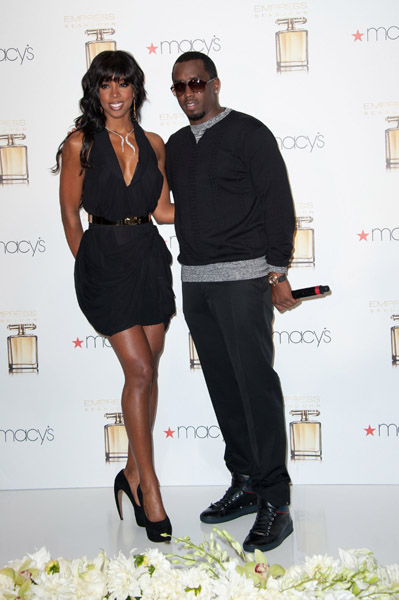 kelly rowland diddy 6 Hot Shots: Diddy Debuts His Empress   Kelly Rowland