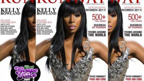 Hot Shots:  Kelly Rowland 'Runway' Spread