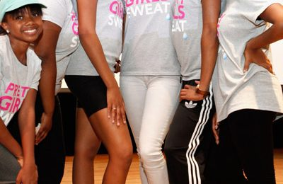 Hot Shots:  Keri Hilson & Crew Keep It Moving For Fitness Campaign