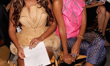 Hot Shots: Beyonce & Solange Soak Up NYC Fashion Week