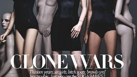 Hot Shot: Sugababes Spoof Line-Up Changes