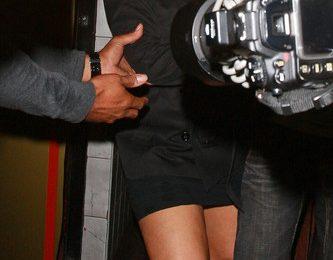 Hot Shot: Christina Aguilera Almost Takes A Tumble