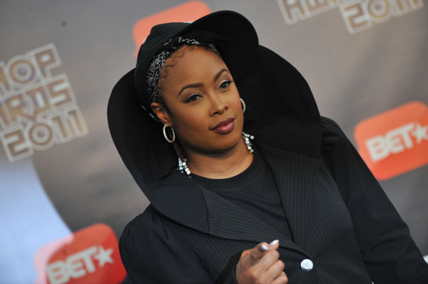 DA BRAT Hot Shots: Da Brat Turns Heads At BET Hip Hop Awards 2011
