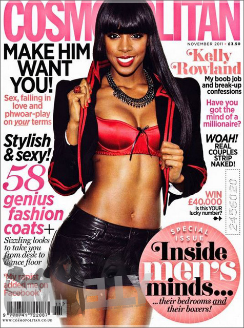 Kelly Rowland Cosmo Hot Shot: Kelly Rowland Covers Cosmopolitan