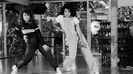 Throwback Footage: Paula Abdul Teaches Janet Jackson How To Dance