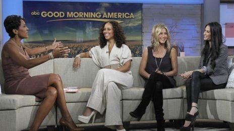 Alicia Keys & Crew Visit Good Morning America