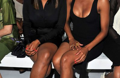 Hot Shots: Jennifer Hudson Joins Ciara At Paris Fashion Week
