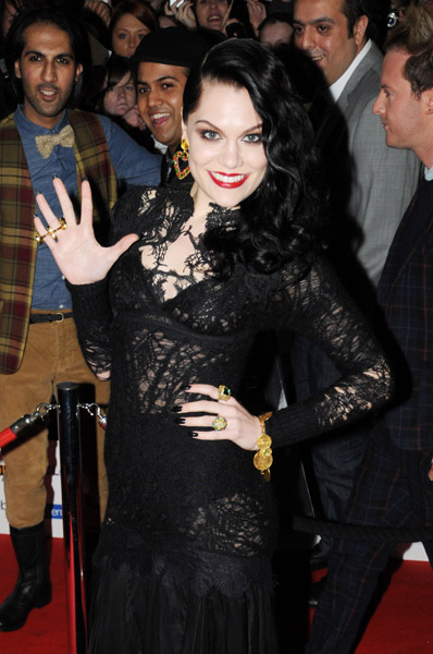 jessie j mobo m Hot Shots: Jessie J Leads MOBO Award Arrivals