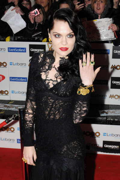 jessie j mobo Hot Shots: Jessie J Leads MOBO Award Arrivals