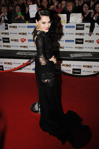 jessie j mobo2 Hot Shots: Jessie J Leads MOBO Award Arrivals