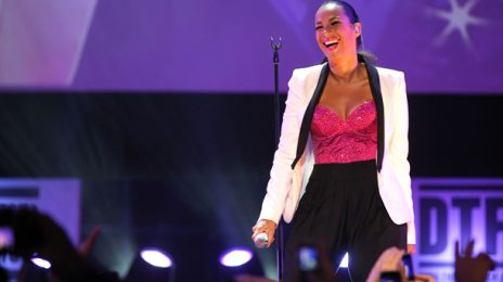 Leona Lewis Lets Her Hair Down at the 2011 Doha Tribeca Film Festival