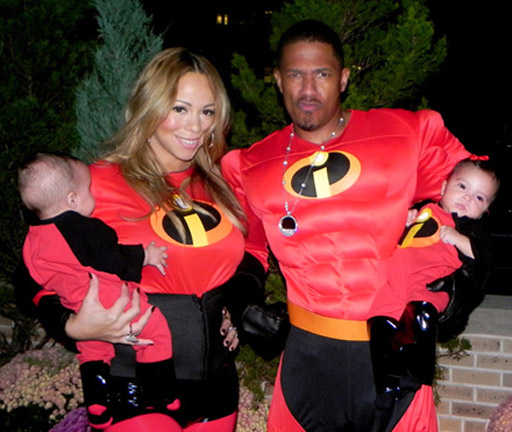 mariah carey nick cannon twins 11 Mariah Carey and Dem Babies Dominate ABC Airwaves
