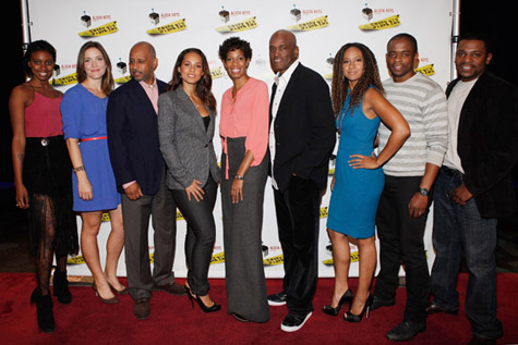 stick fly photo call 4 Hot Shots:  Alicia Keys Keeps It Fly