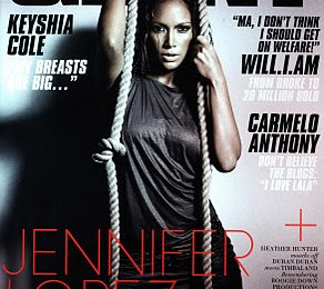 Jennifer Lopez Covers GIANT Magazine