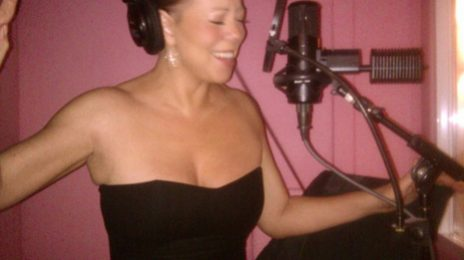 Hot Shot:  Mariah's Making Moves In the Studio