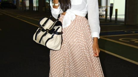 Hot Shot: Leona Lewis Snapped In London's Heathrow Airport