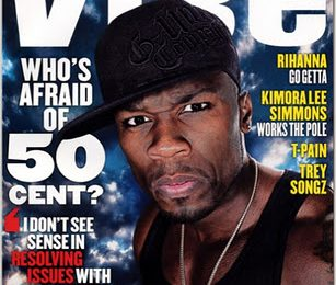 50 Cent Covers VIBE Magazine