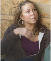 Mariah Carey On the Set of 'Tennessee'