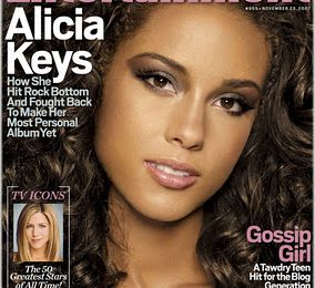 Alicia Keys Covers Entertainment Weekly