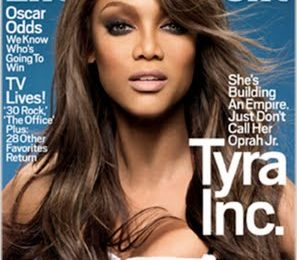 Tyra Covers Entertainment Weekly