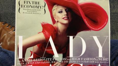 Hot Shot:  Lady Gaga's Red Hot Vanity Fair Cover