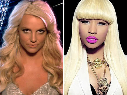 Britney and Nicki Britney Spears & Nicki Minaj Perform Till The World Ends (Femme Fatale Tour Special)