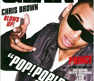 Chris Brown Covers Giant Magazine