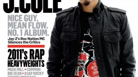 Hot Shot: J.Cole Covers 'Respect' Magazine