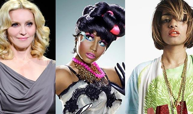 MADONNA NICKI AND MIA M.I.A Confirms Madonna/Nicki Minaj Collaboration