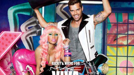 Hot Shot: Nicki Minaj Fights AIDS With MAC