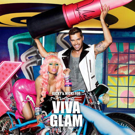 Nicki And Ricky Fight Aids With MAC Hot Shot: Nicki Minaj Fights AIDS With MAC