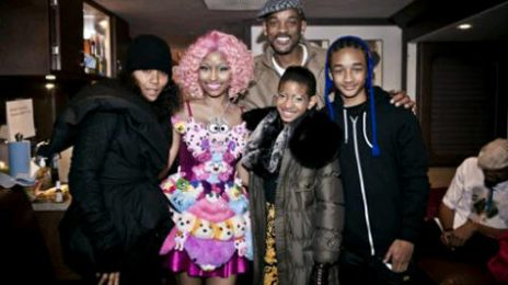 Hot Shots: Nicki Minaj Shoots 'Fireball' With Willow Smith