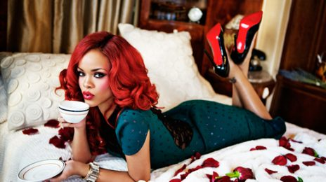 Watch:  Rihanna's 'Glamour' Shoot Behind the Scenes